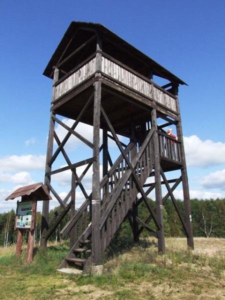 Biebrzanski Park Narodowy - wieża widokowa