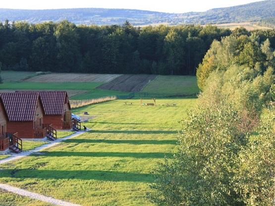 Siedlisko Carownica - domki w Górach Świętokrzyskich
