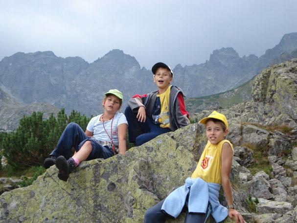 Z dziećmi w górach
