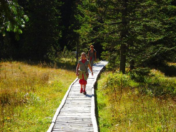 Szlaki w górach dostępne dla dzieci