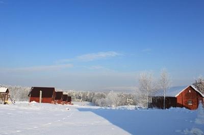Zima - Góry Świętokrzyskie