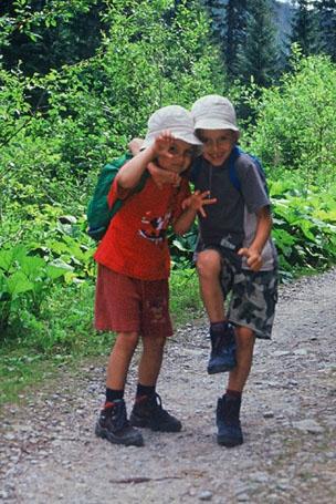 Tatry z dziećmi