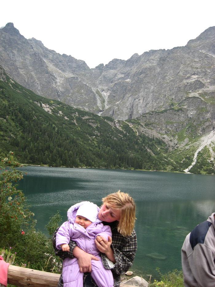Z wózkiem w Tatry - Morskie Oko
