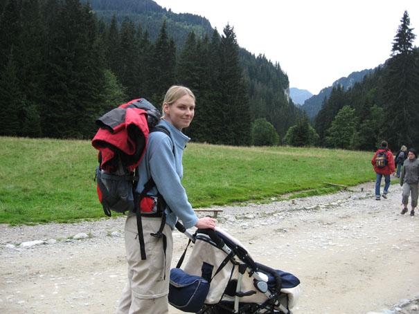 Z niemowlakiem w Tatry - Dolina Kościeliska