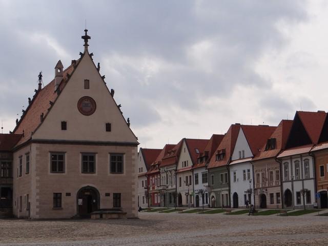 Zabytkowy rynek w Bardejovie