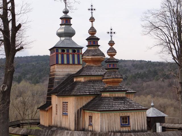 Szlak Architektury Drewnianej - zabytkowa cerkiew