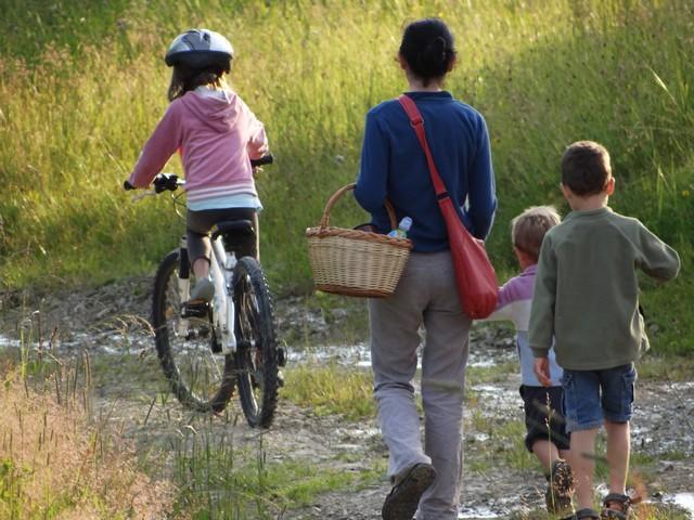 Wedrowki z dziecmi w Beskidzie Niskim - pieszo lub rowerem