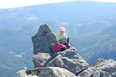 Kasia zdobywa górskie szczyty