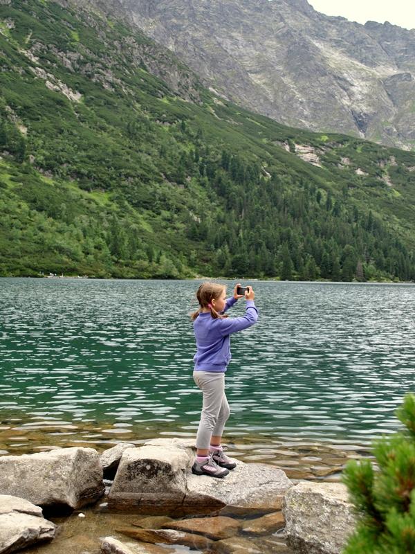 Nad Morskim Okiem - z dzieckiem w górach