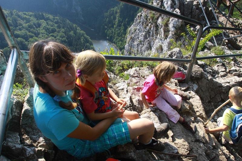 Z dziećmi na Sokolicy