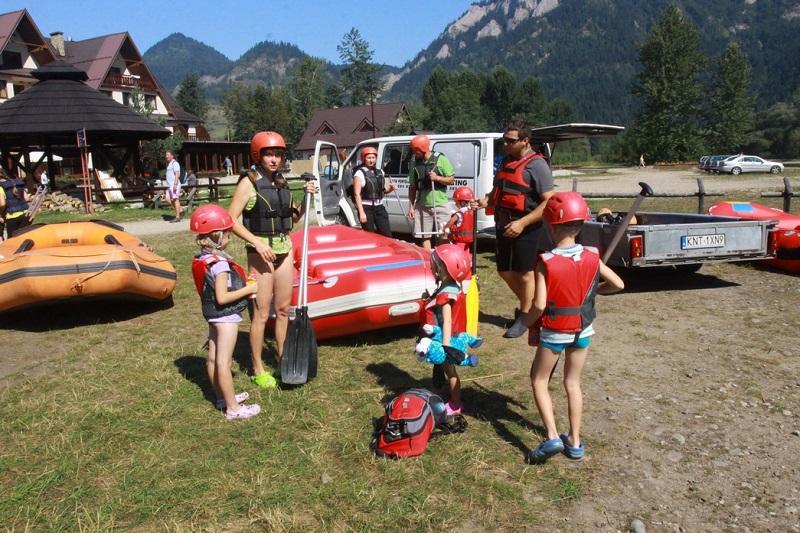 Ruszamy z dziećmi na rafting