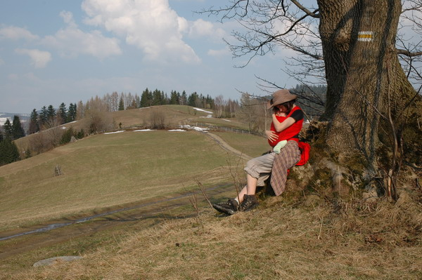 Z niemowlakiem w górach - Beskid Żywiecki